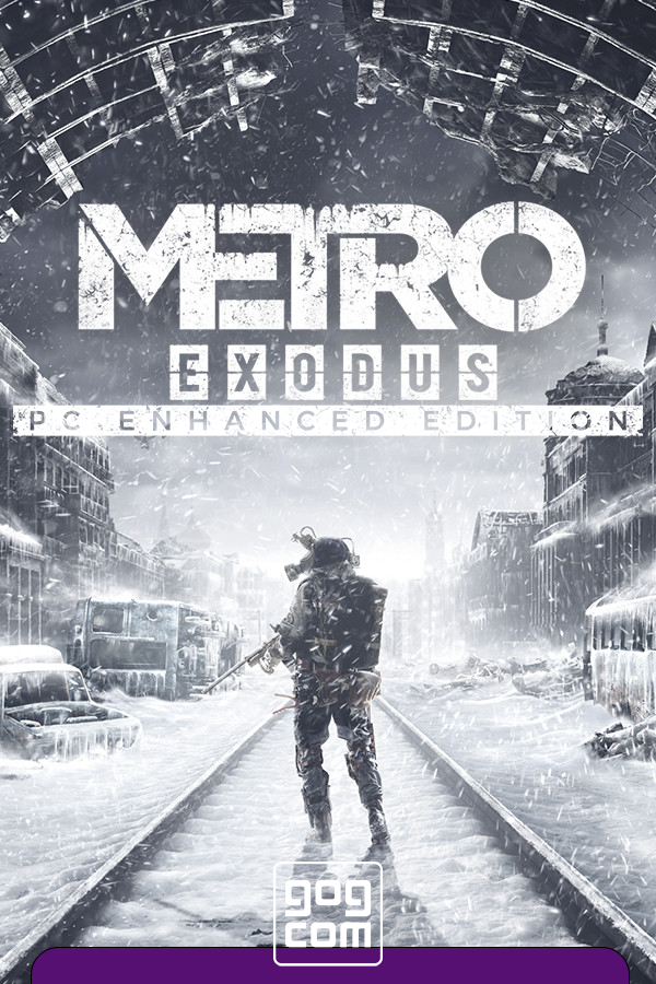 Обложка к игре Metro: Exodus - Enhanced Edition v. 3.0.7.24 (46543) [GOG] (2019) Лицензия